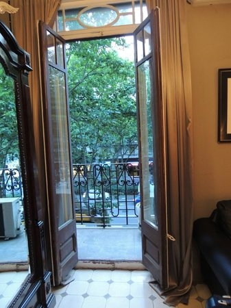 Casa de Billy Barcelona : Small Balcony