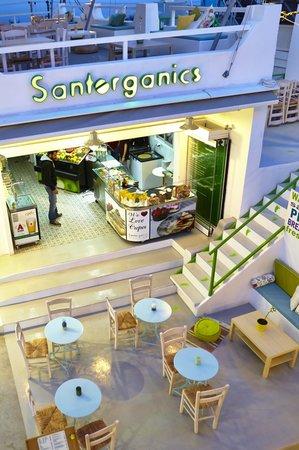 Santorganics: Restaurant & Creperie