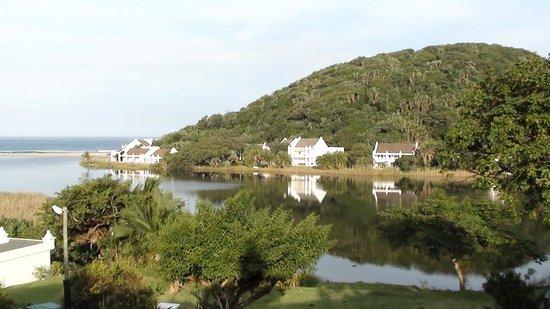 The Estuary Hotel & Spa : The view from the veranda.