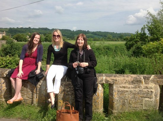 Hope Cottage Tours: Time to stop for a rest on a gentle stroll around Lacock