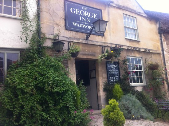 Hope Cottage Tours: The George Inn - perfect lunch stop