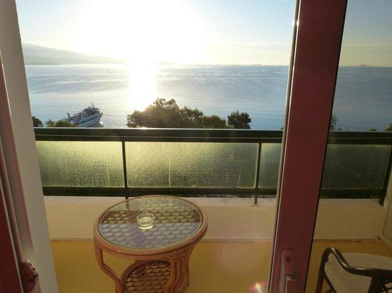 Hotel King Saron : vue de la chambre