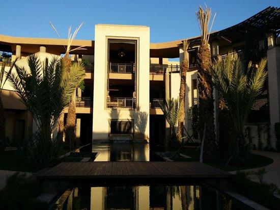 Fairmont Royal Palm Marrakech : l'entrée d'un groupe de suites