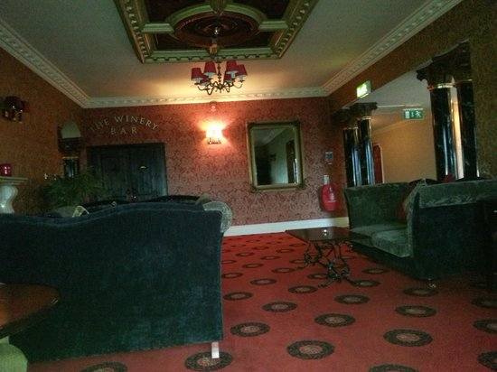 Yeats Country Hotel, Spa and Leisure Centre: Lounge Area
