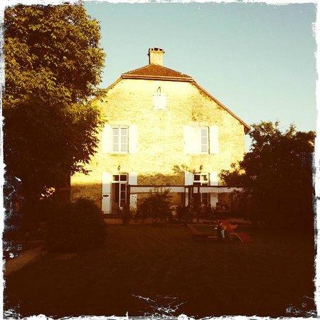 La Maison d'Eusebia : Aussenbereich