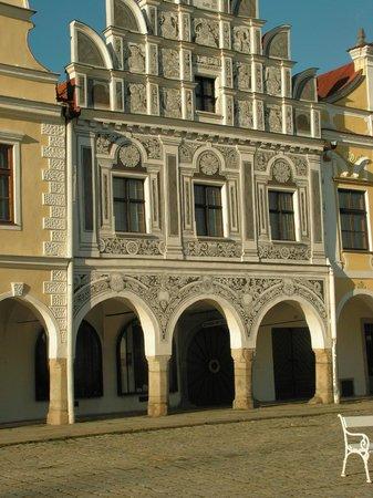 Historic Centre of Telc: main square