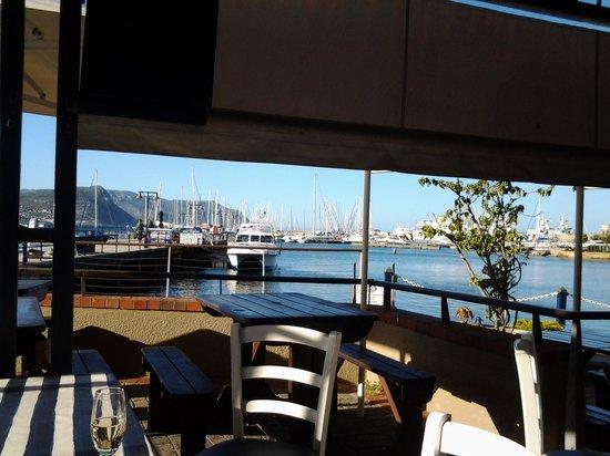 Bertha's Restaurant: great views