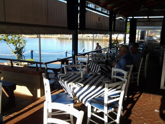 Bertha's Restaurant: great for sundowners