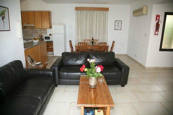 Platzia Villas : 3 bedroom villas with sea view  sitting area