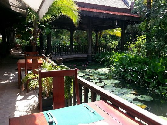 Sokhalay Angkor Resort & Spa: View from the restaurant