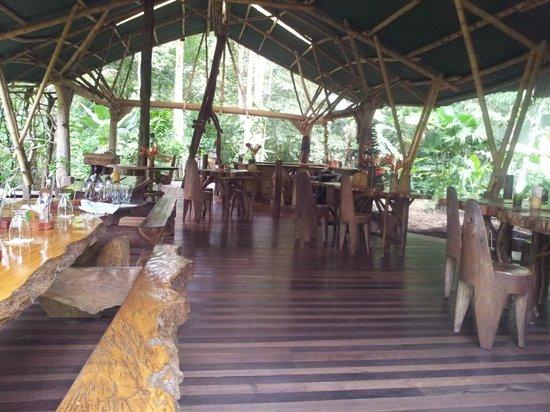 Danta Corcovado Lodge: salle de restaurant