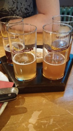 Brauhaus Lemke: Test des 4 bieres