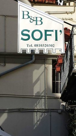B&B Sofi: from outside
