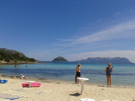 Hotel Resort & SPA Baia Caddinas: spiaggia