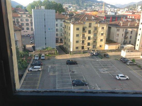 Hotel Ceresio: Вид из окна