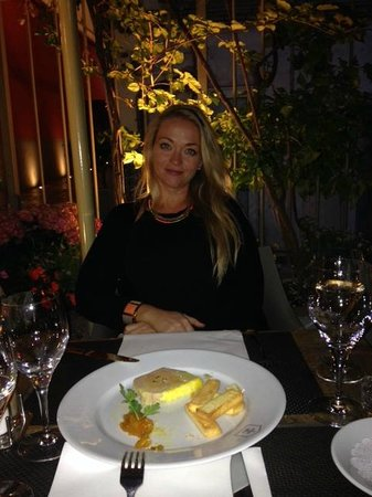 la maison de marie: foie gras and lovely outdoor seating