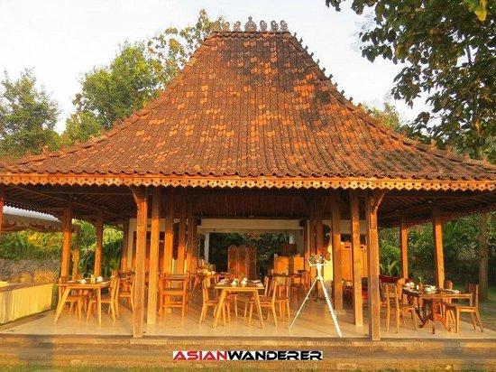 Plataran Borobudur Resort & Spa: Breakfast area