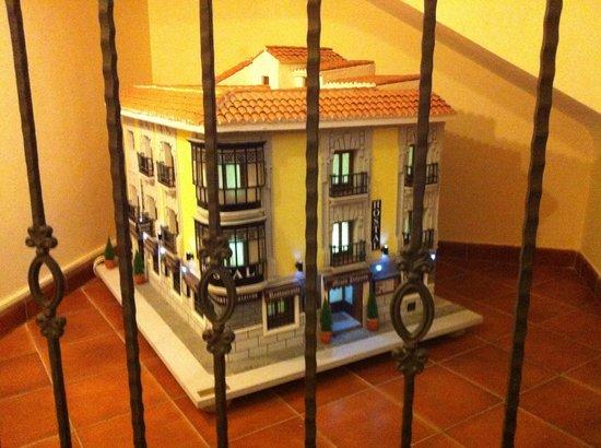 Hostal Palacios: Maqueta hotel