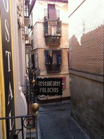 Hostal Palacios: Vistas desde la hab. 103