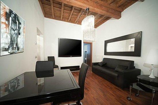64 Suites Apart : I soggiorni presenti negli appartamenti della struttura