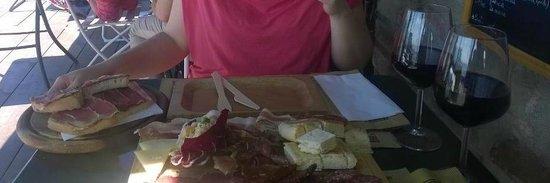 Osteria Il Maremmano: tagliere e bruschettona