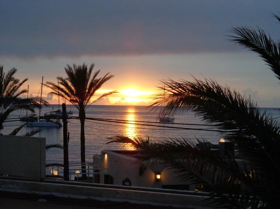 Bellamar Hotel: Beautiful sunsets.