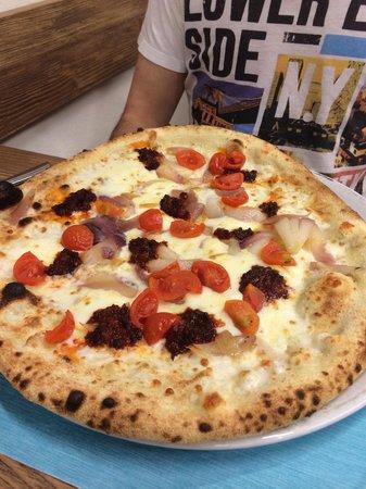 """Pizzeria Marina: Pizza """"missione impossibile"""""""