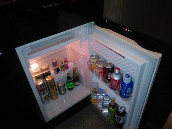 Ana Intercontinental Tokyo : Холодильник забит