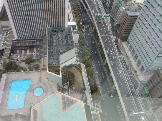 Ana Intercontinental Tokyo : Перед отелем есть бассеин