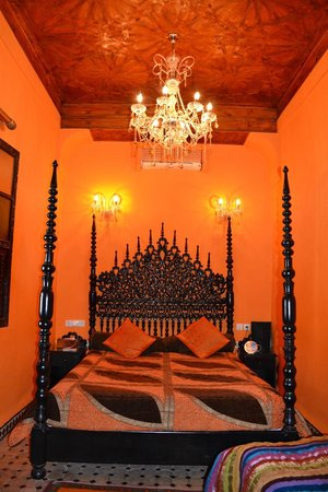 Riad El Mansour: Our Room - stunning