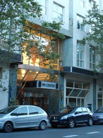 NH Valencia Center : Hoteleingang