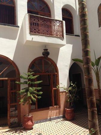 Riad Dar Tinmel: Innenhof