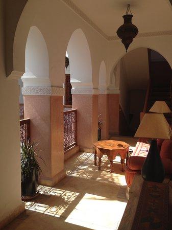 Riad Dar Tinmel: 2 Stock Leseecke