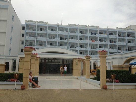 Mitsis Grand Hotel: Hotellentré