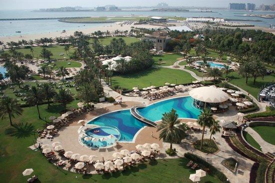 Le Royal Meridien Beach Resort & Spa: Vue du balcon