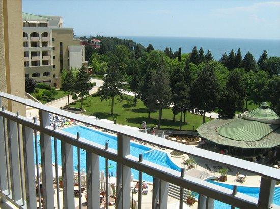 Sol Nessebar Palace: sea view