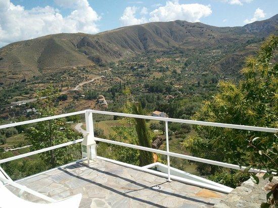 La Almunia del Valle : Vistas desde la habitacion