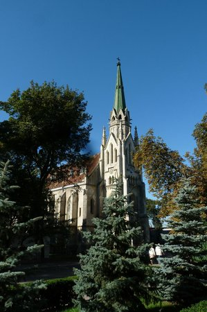 The Church of the Heart of Jesus.