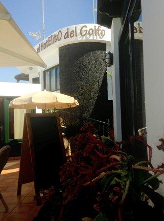 Hotelito del Golfo: Reception area