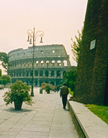 Rome Coliseum Guided Tours : street