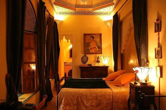 Riad Jenaï : Une chambre au Riad