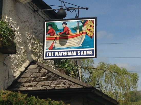 Waterman's Arms: The Pub