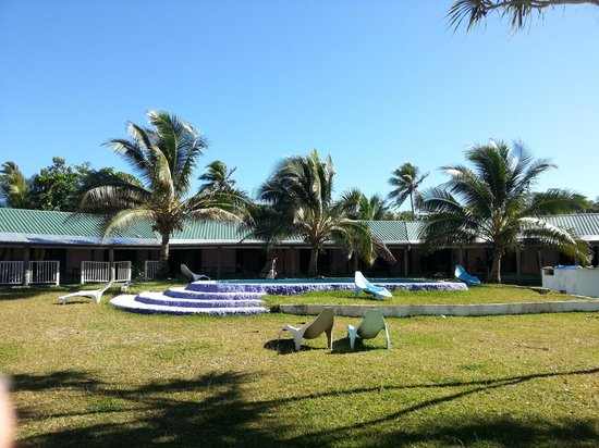 Blue Pango Motel: view of blue pango