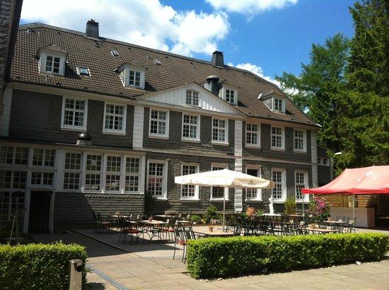 Fritz am Brunnen Parkhotel: Terrasse
