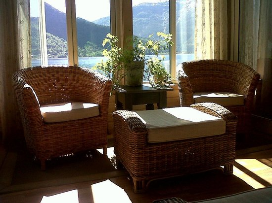 Hofslund Fjord Hotel : Have a cup of tea/coffee here anytime