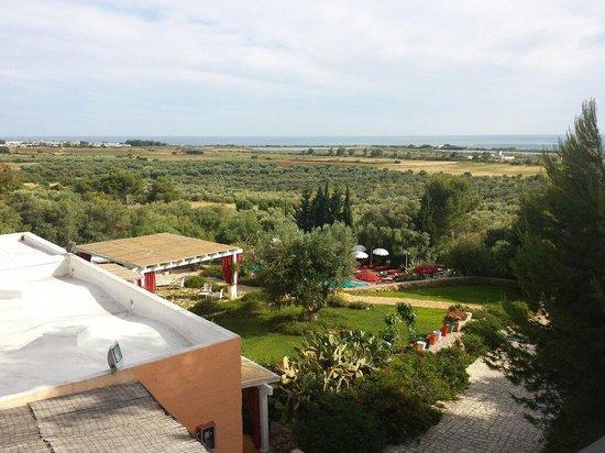 Antica Masseria Rottacapozza: Vista dall'alto....stupenda