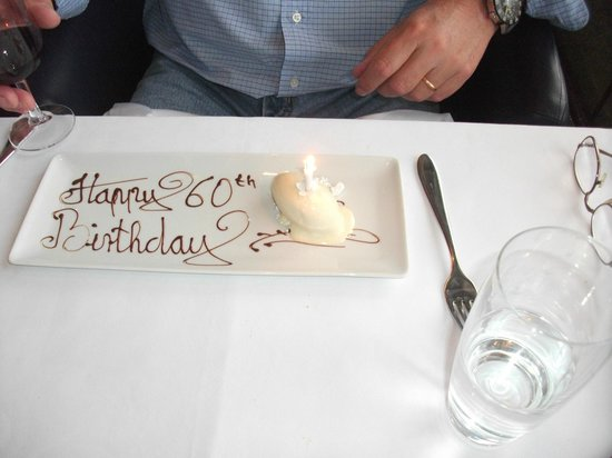 Oxo Tower Restaurant, Bar and Brasserie: Special Touch