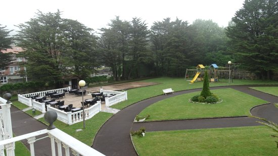 Hotel Nicol's: Le jardin