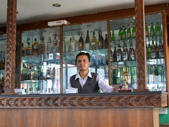 Hotel Nepalaya: Ranesh in the Rooftop Garden Restaurant