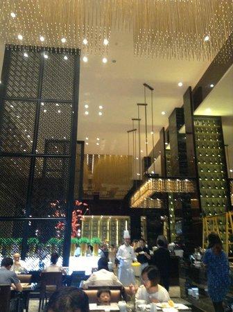 InterContinental Shanghai Puxi: beautiful breakfast area